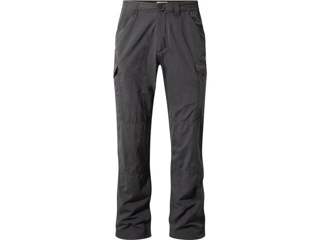 Craghoppers NosiLife Cargo II Pantalones Hombre, black pepper